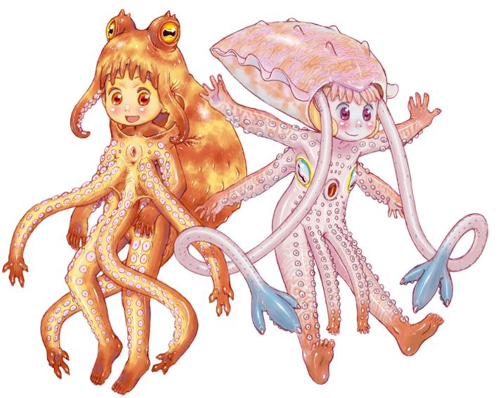 Squid tentacles art