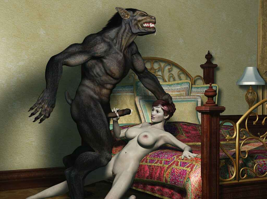 Монстры и девушки фото порно
