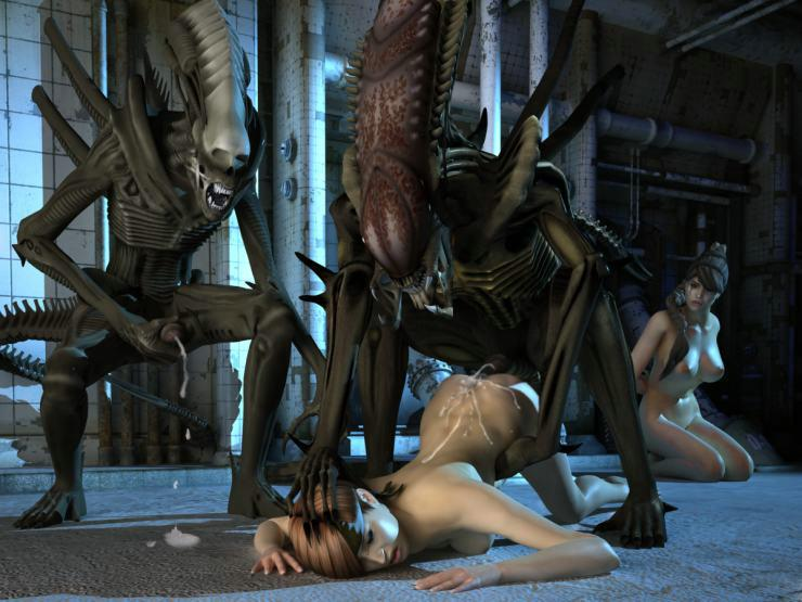 Alien rape sex games scholl