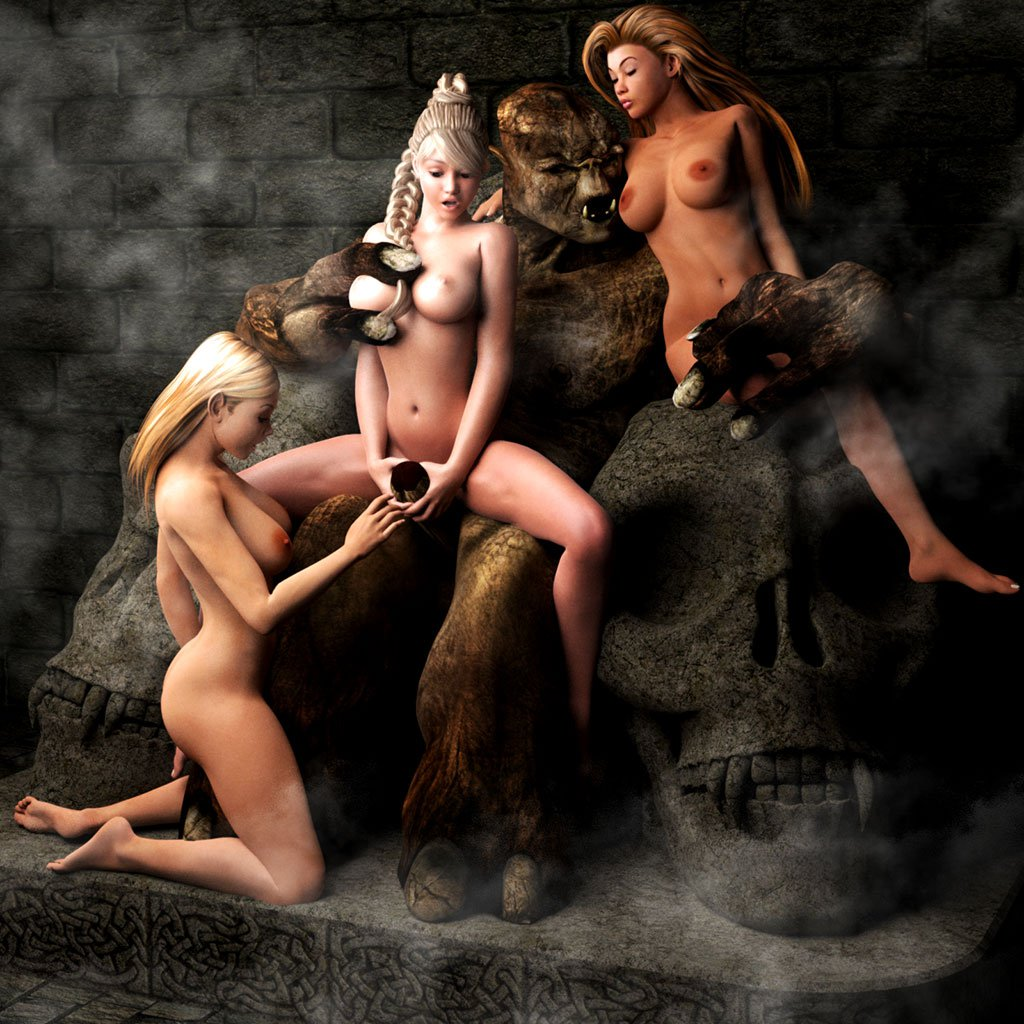 Human male on elf female porn pics