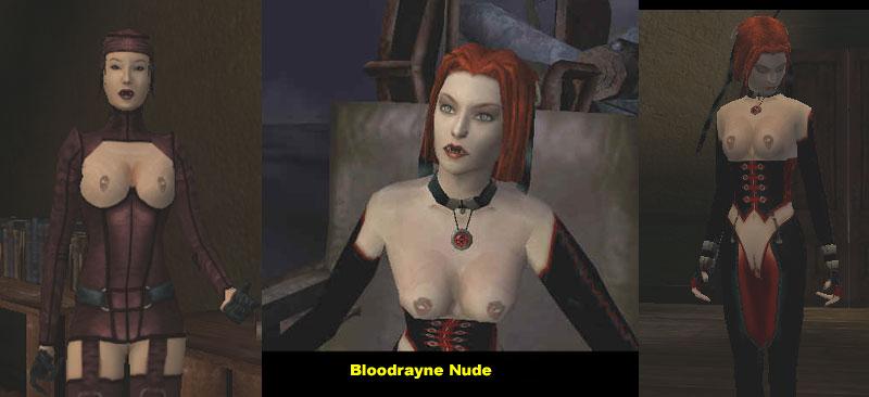 Blood rayne naked