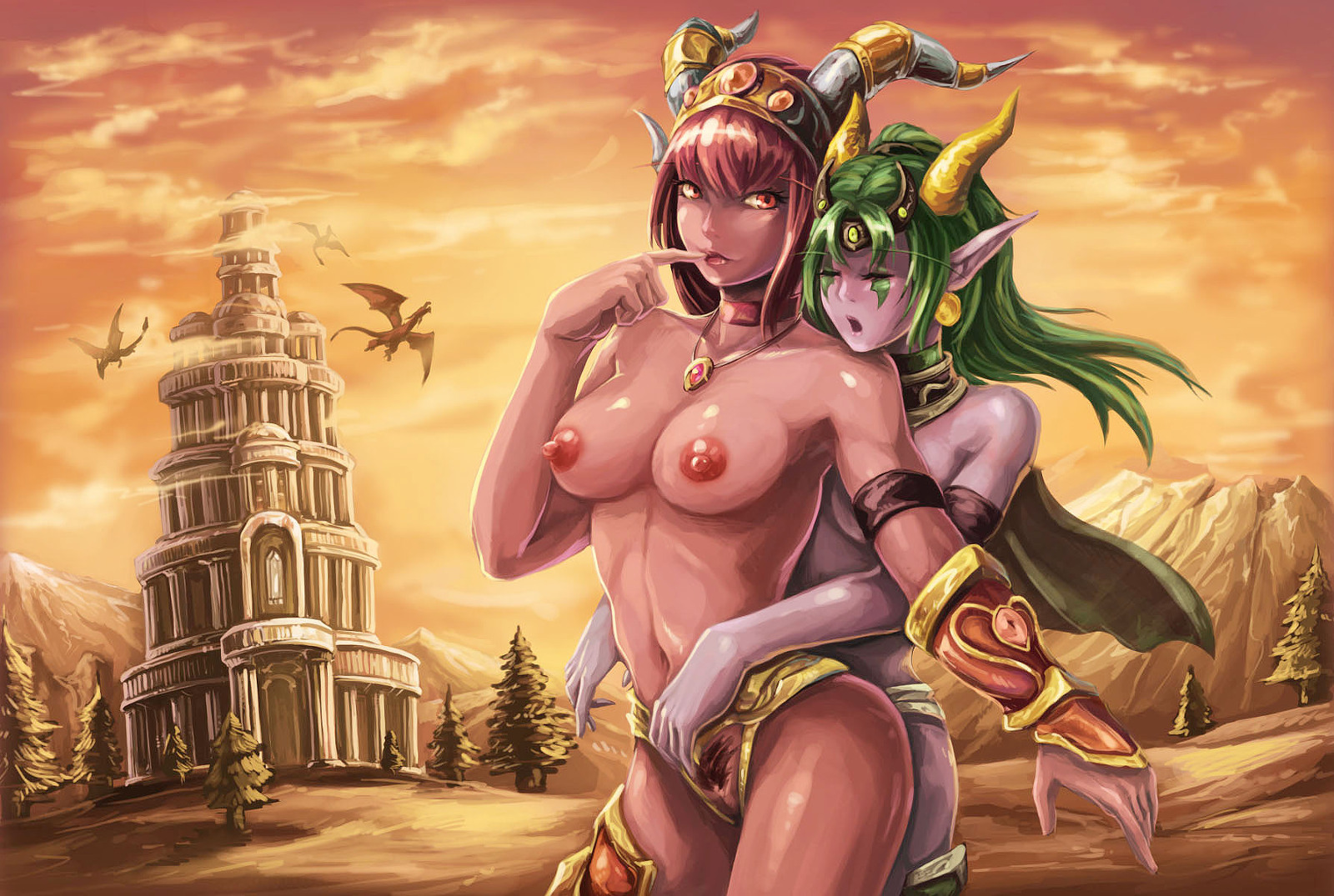 World of warcraft porn images erotic sister