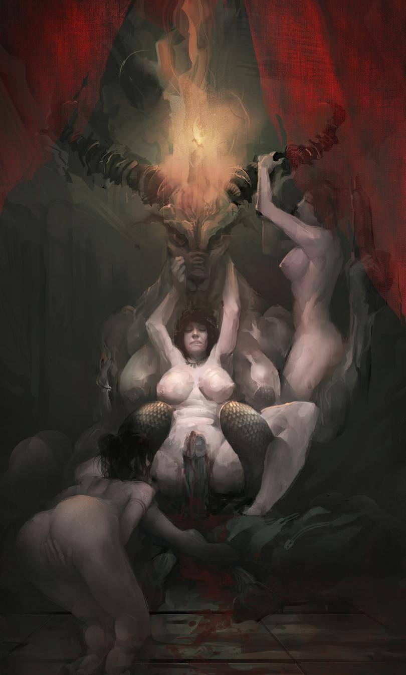 Заняться сексом дьяволом как с