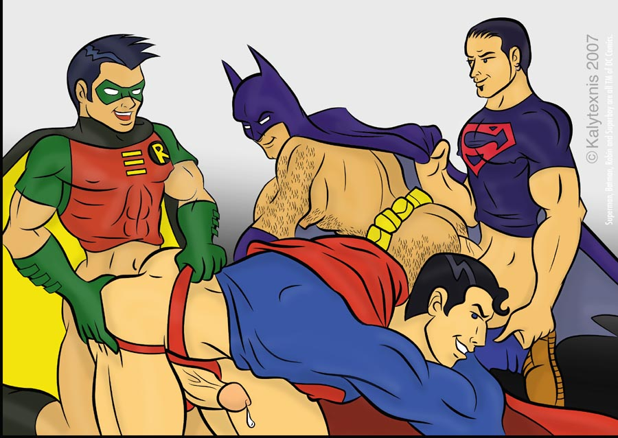 порно геи супермен фото