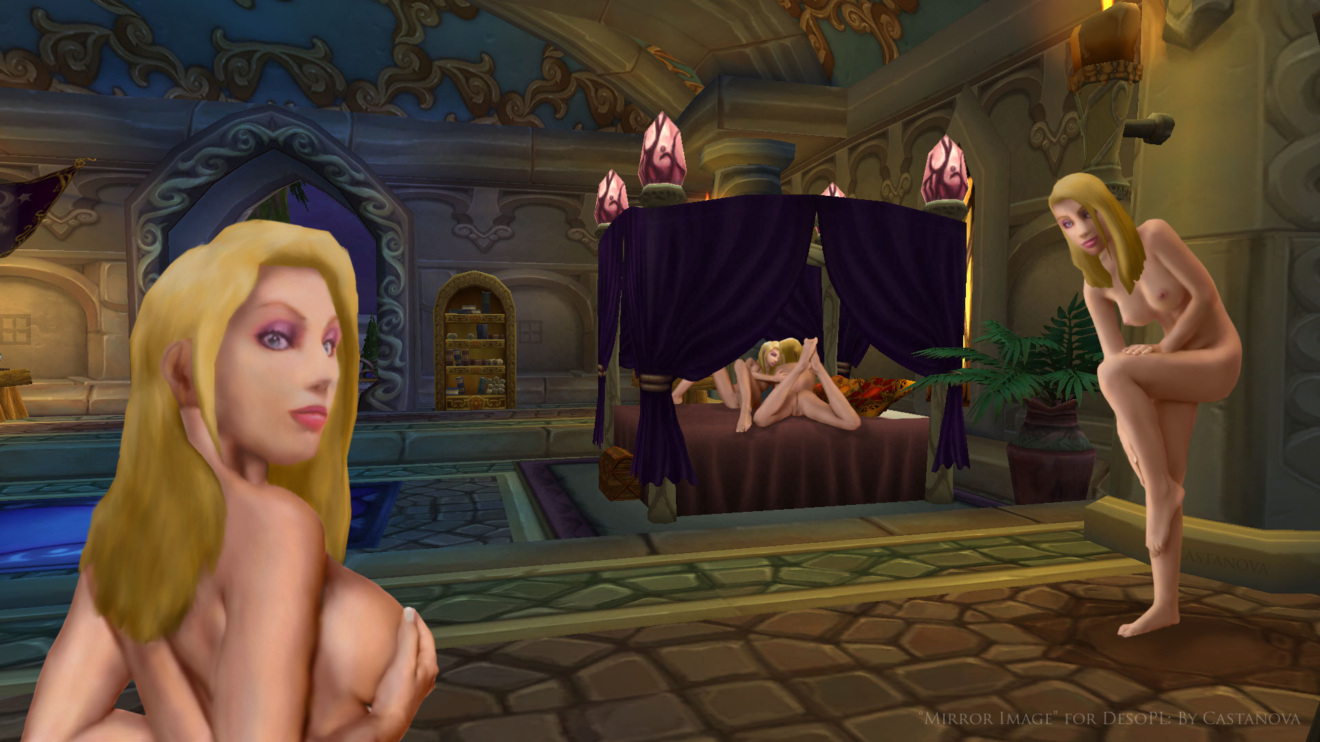 Nude sorceress warcraft porn galleries