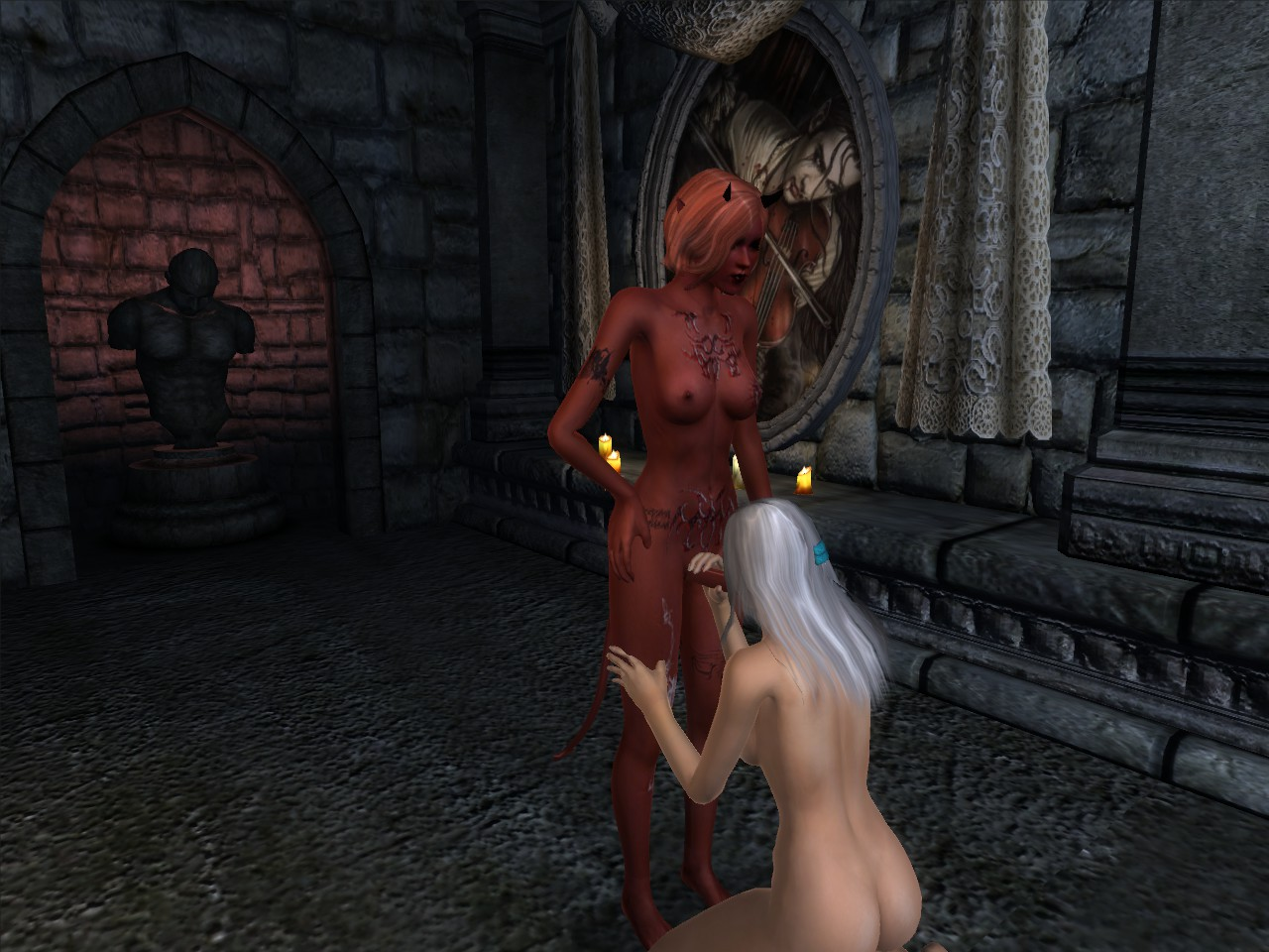 The elder scrolls succubus sex fucked movie