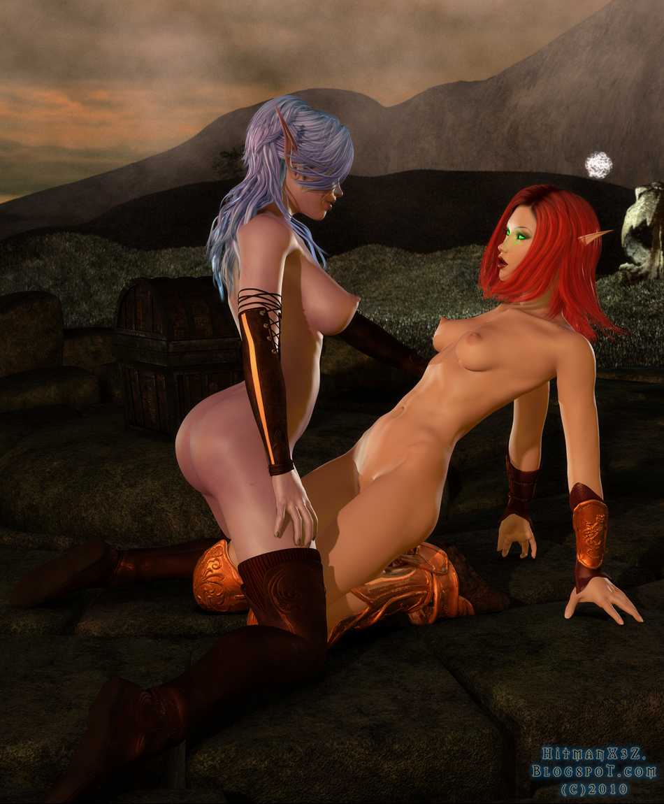 World of warcraft blood elf lesbian sex porn pussies