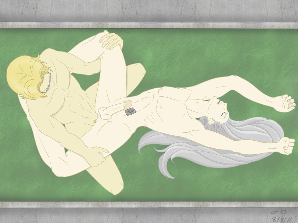 Tifa X Sephiroth By Wanksy