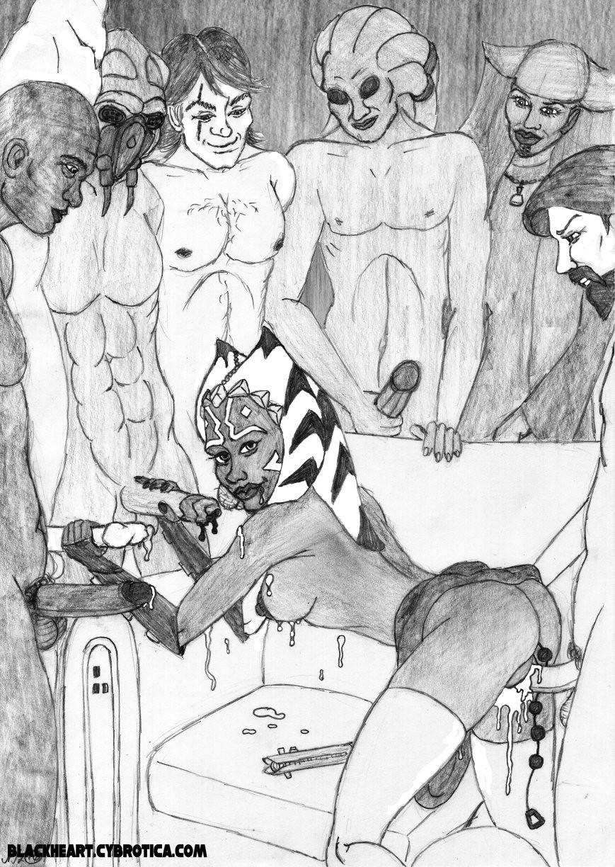 Секс энакина и асоки