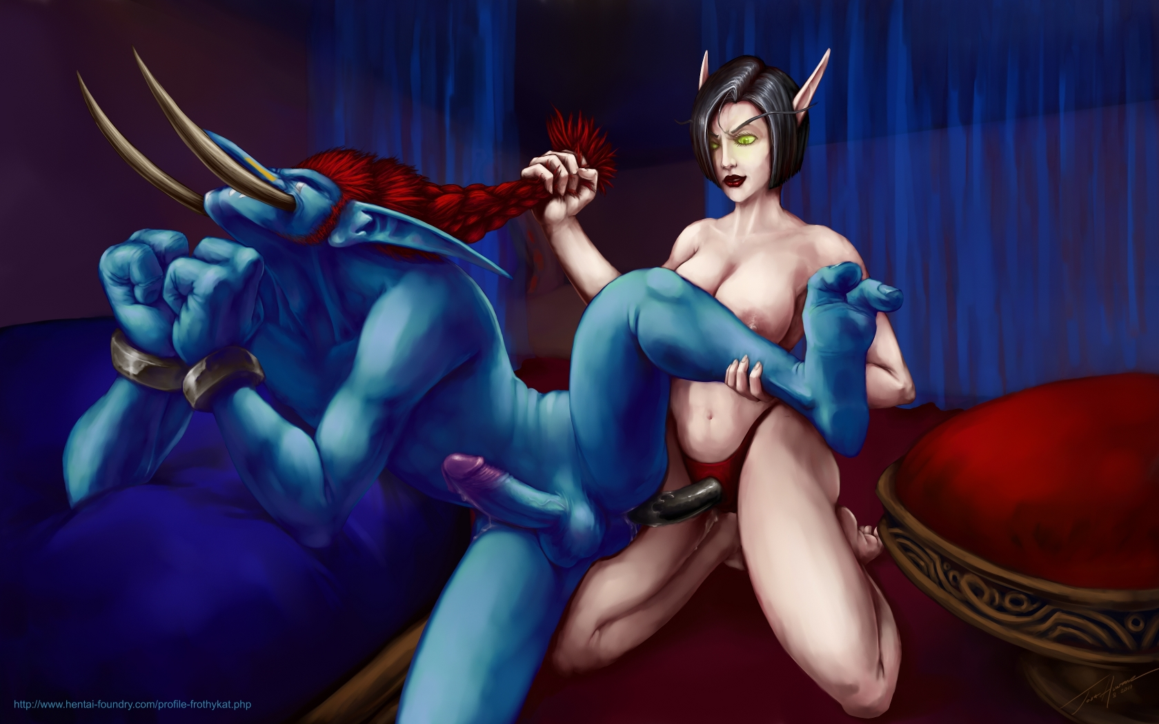 Nude blood elves and drani porncraft super girlfriends