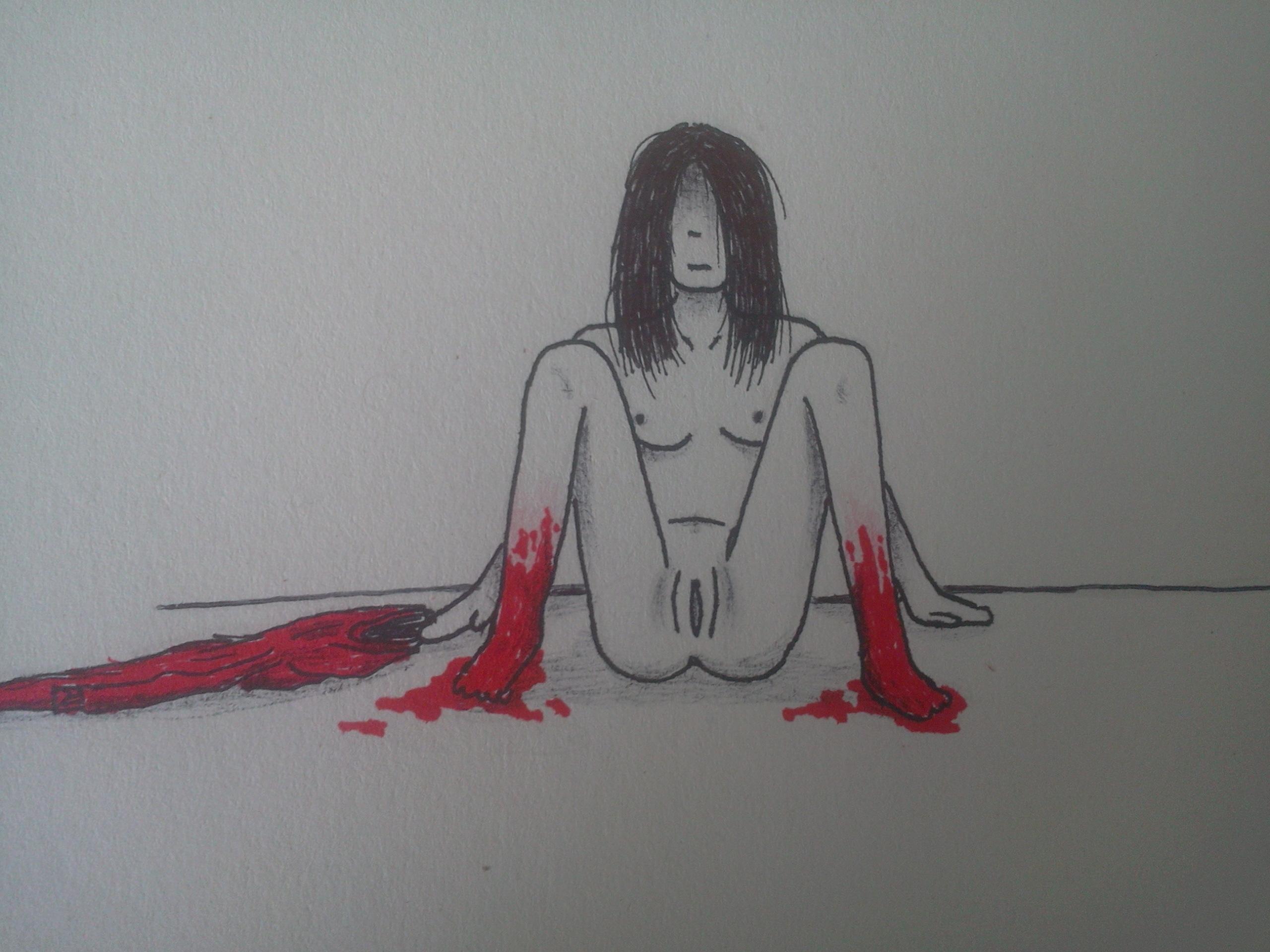 Free xxx fear drawings