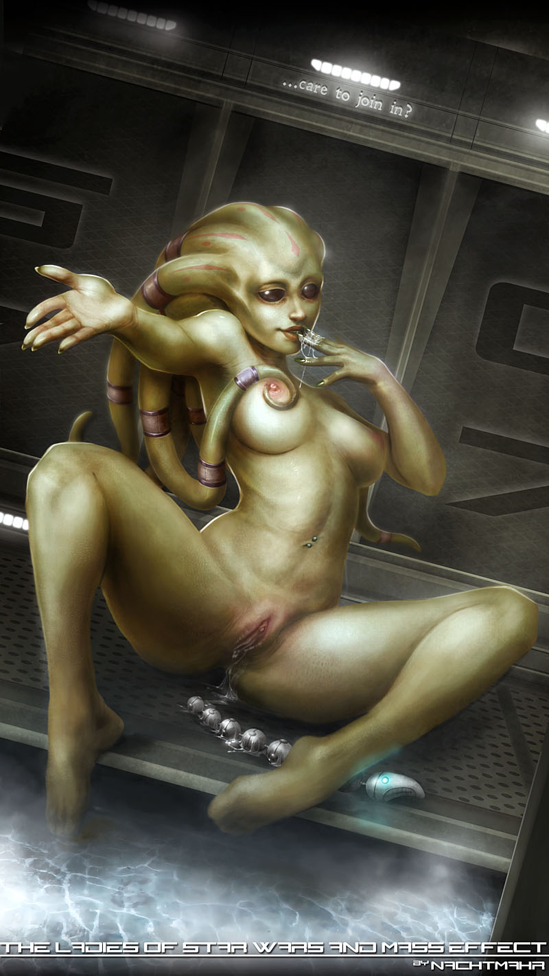 Sexy naked anime blue female aliens nsfw image