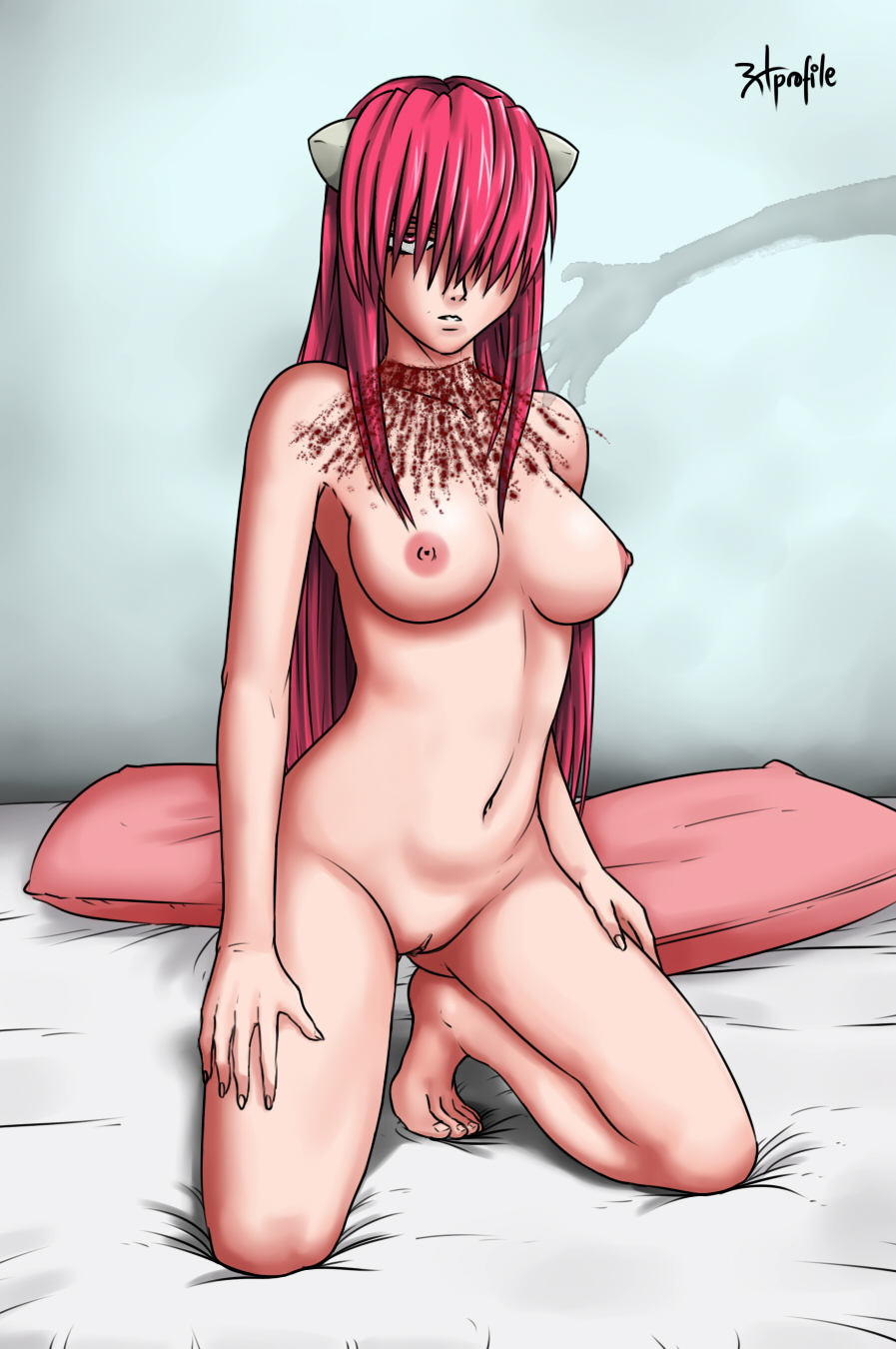Elfen lied hentai sex video hentay clips