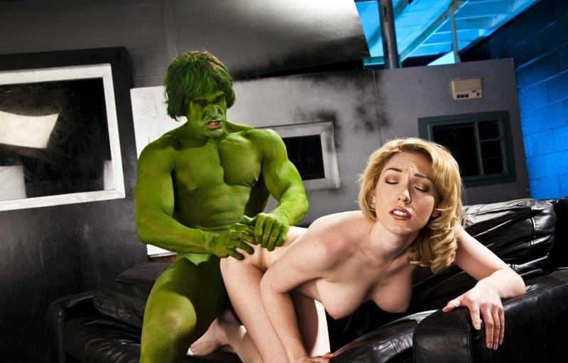 The Incredible Hulk Xxx A Porn Parodyru