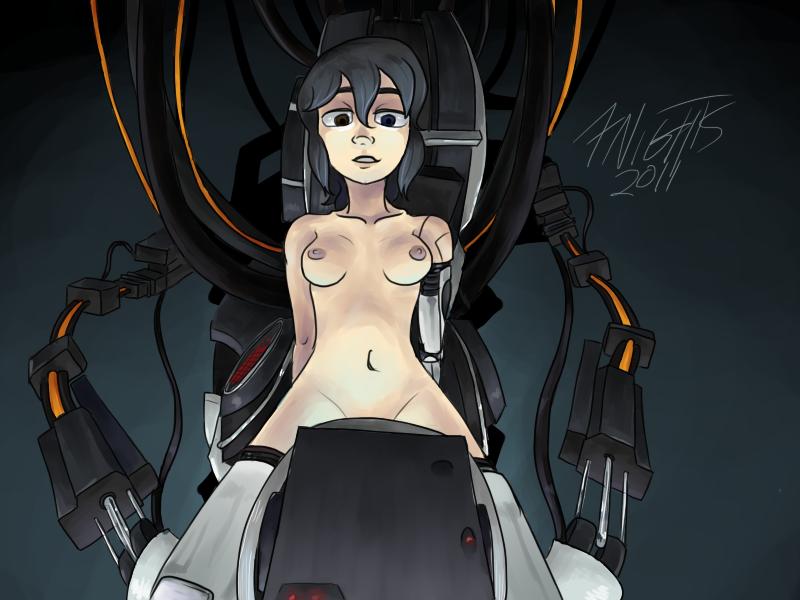 Порно portal 2 девушка из игры