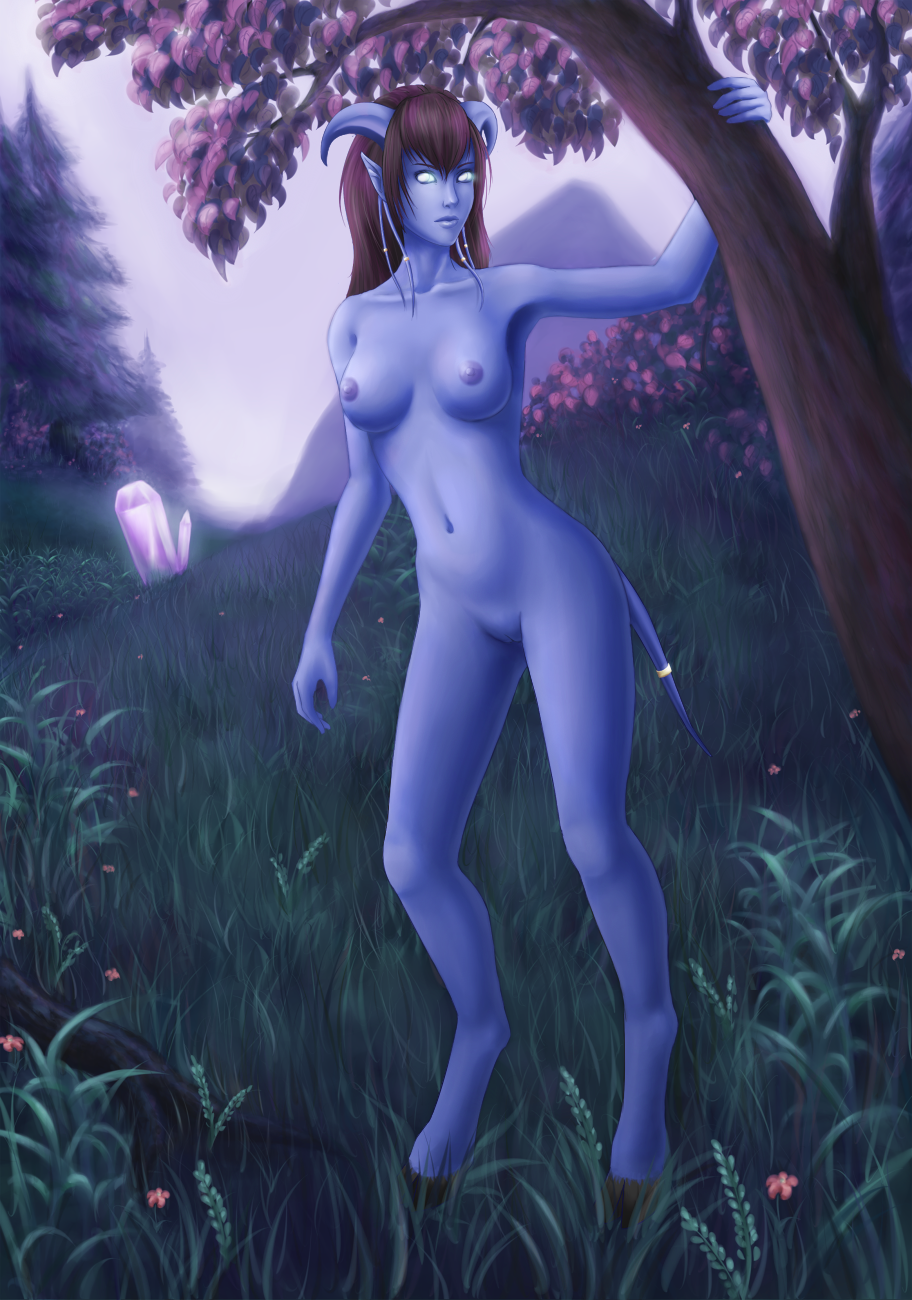 Draenei nude skin xxx video