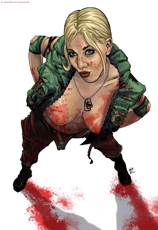 Sonya blades topless adult image