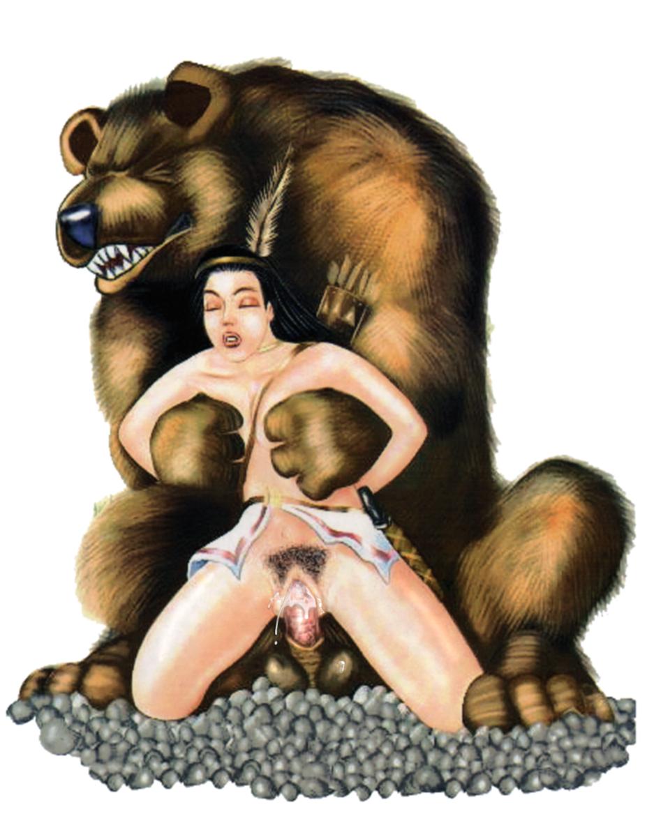 Фото порно секс с медведеем 17 фотография