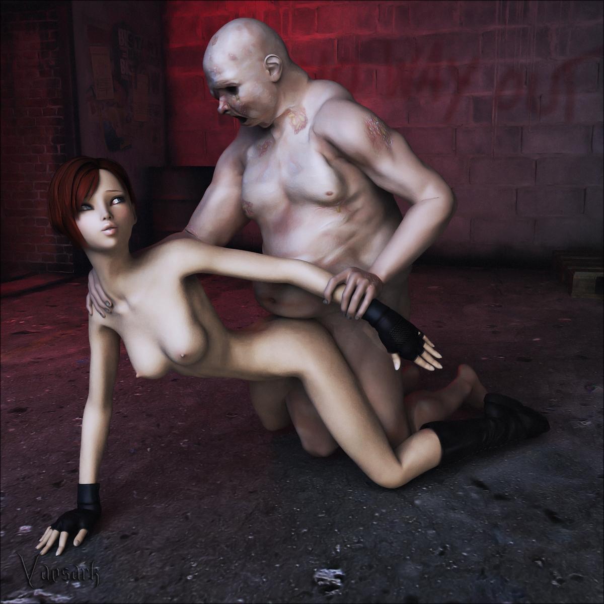 Image of nude zombie style hentai photo