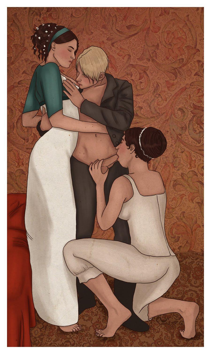 Malfoy naked
