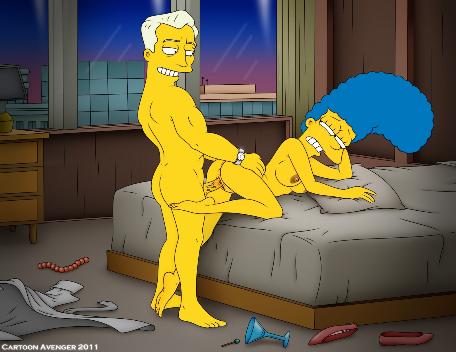 Marge simpson sex game