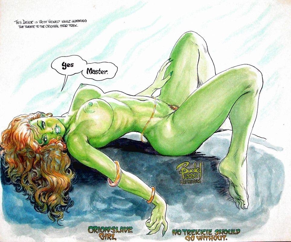 Naked orion slave girl