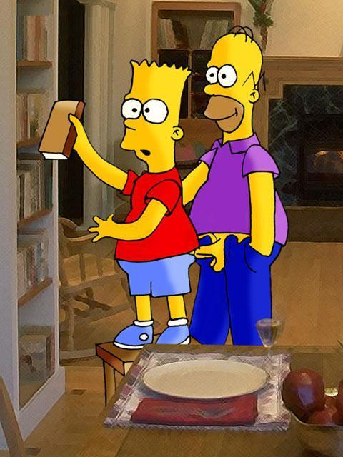 Bart simpson getting his dick sucked