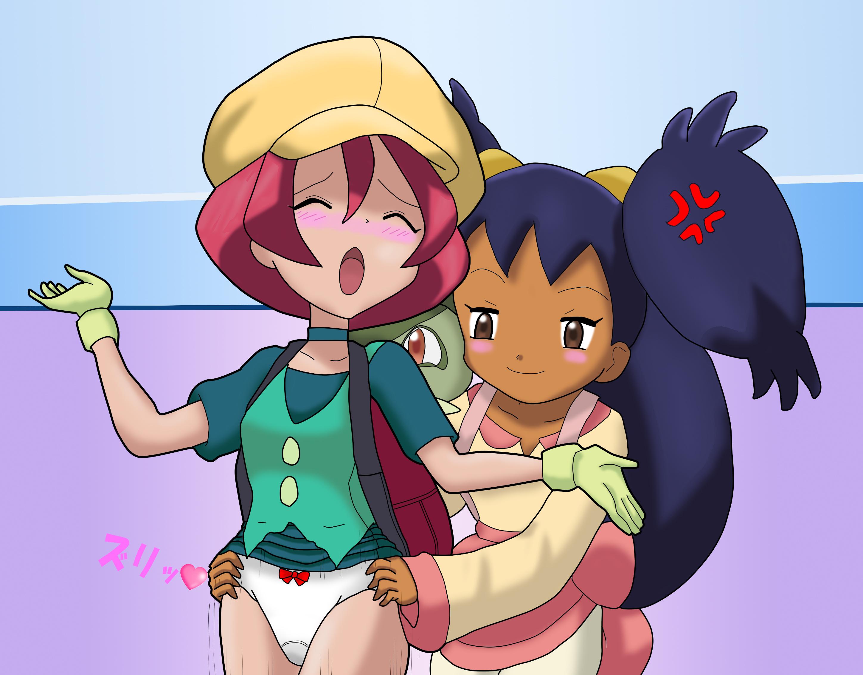 Pokemon elesa ash haveing sex