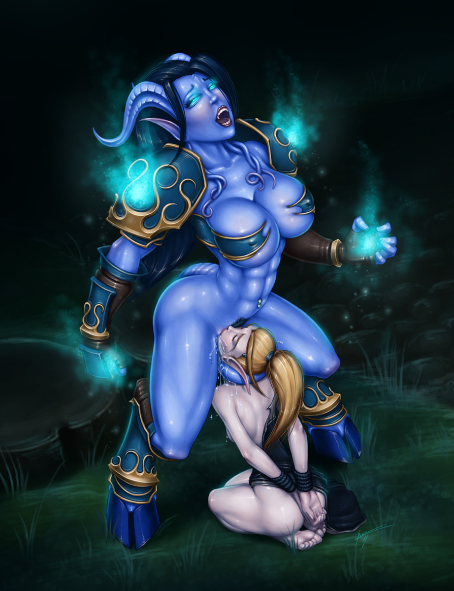 Wow hentai elf of blood and draenei  sexy film