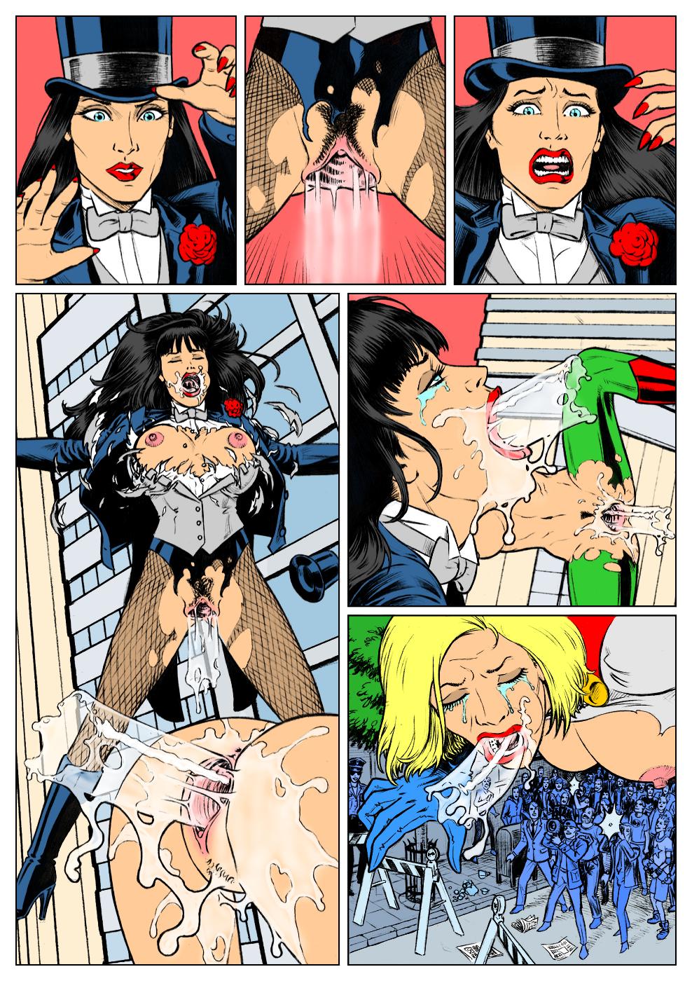 Dc Comics Porn Comics