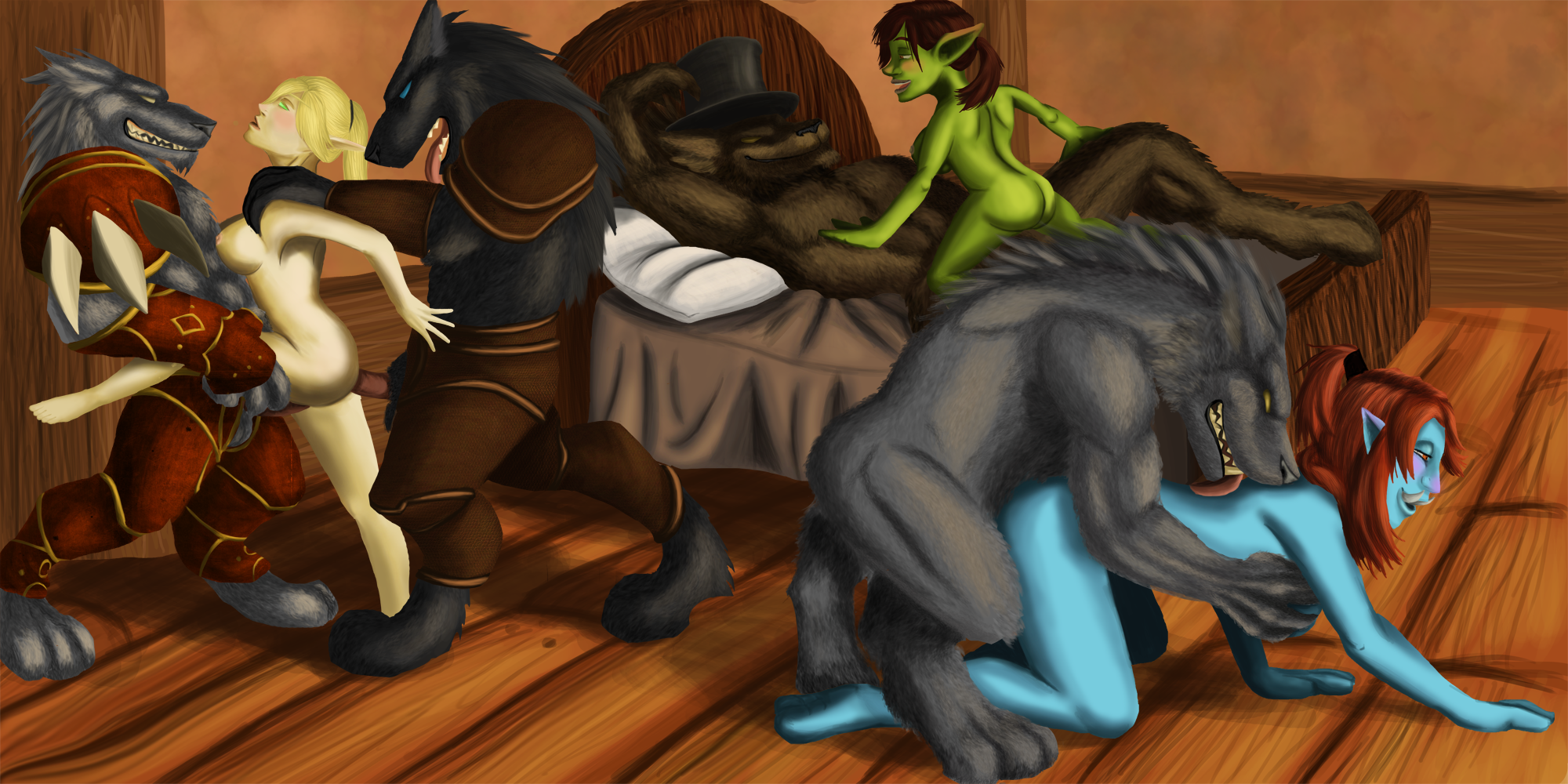 Blood elf and troll naked erotica picture