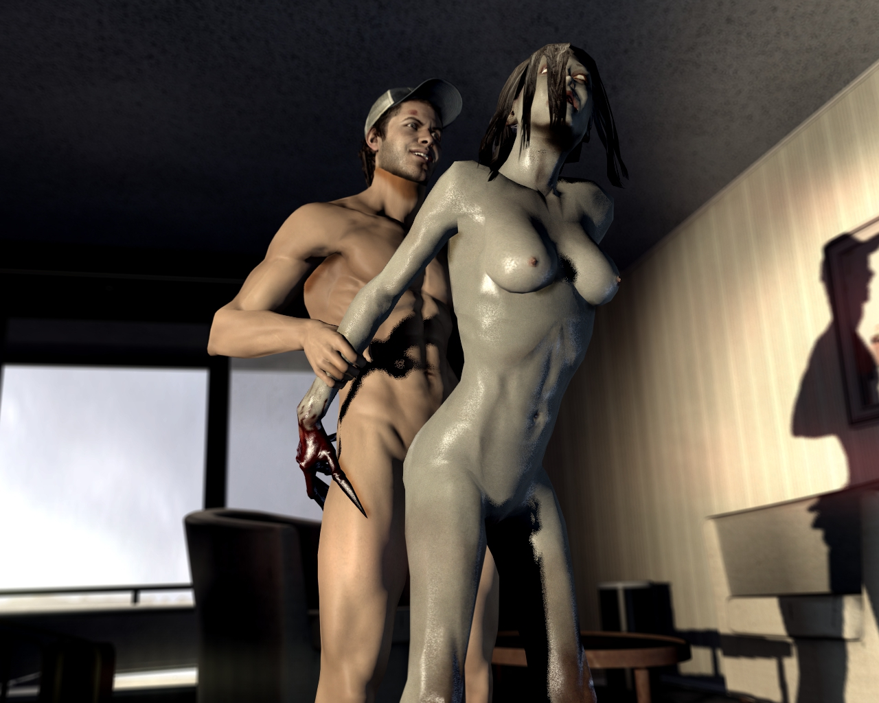 L4d hunter and zoey humping naked porn image