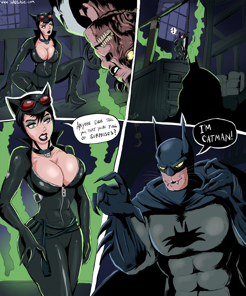 Catwomen and batman porno nude photo