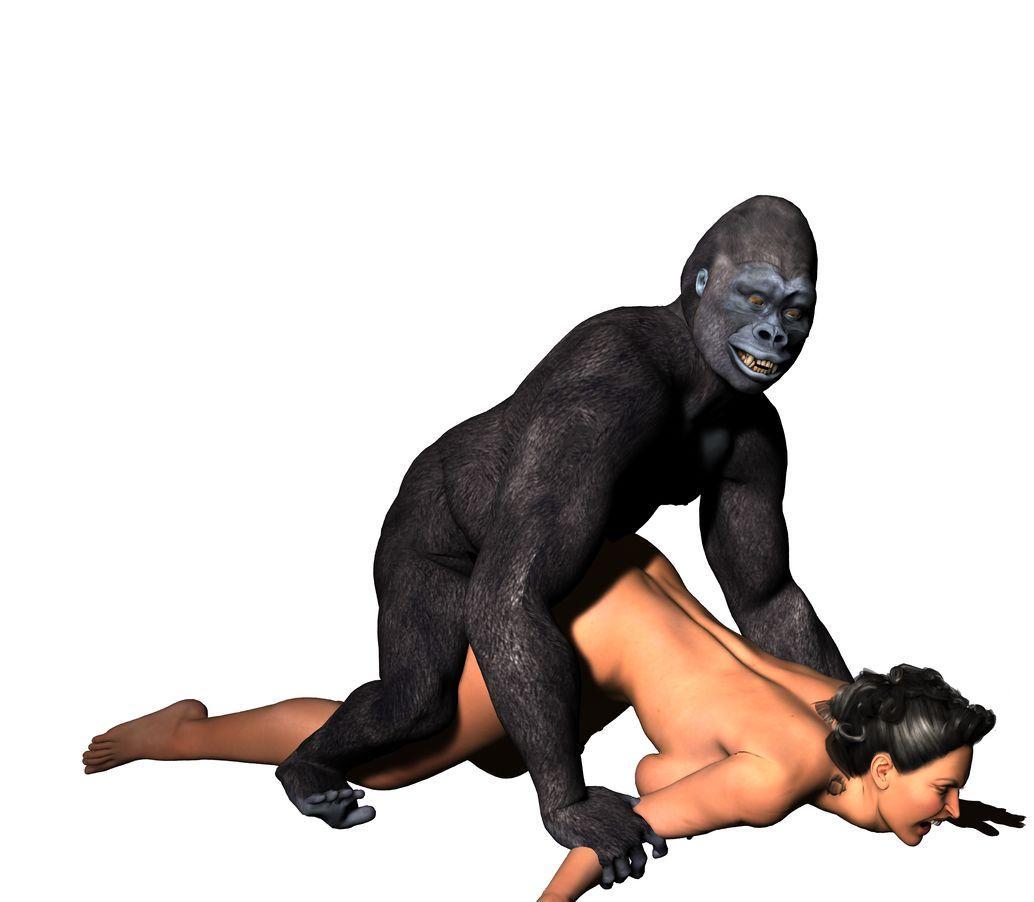Gorilla fucking a female, erika eliniak nude