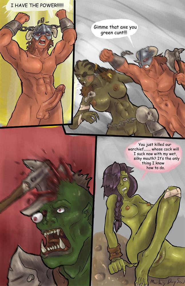 Порно комикс skyrim