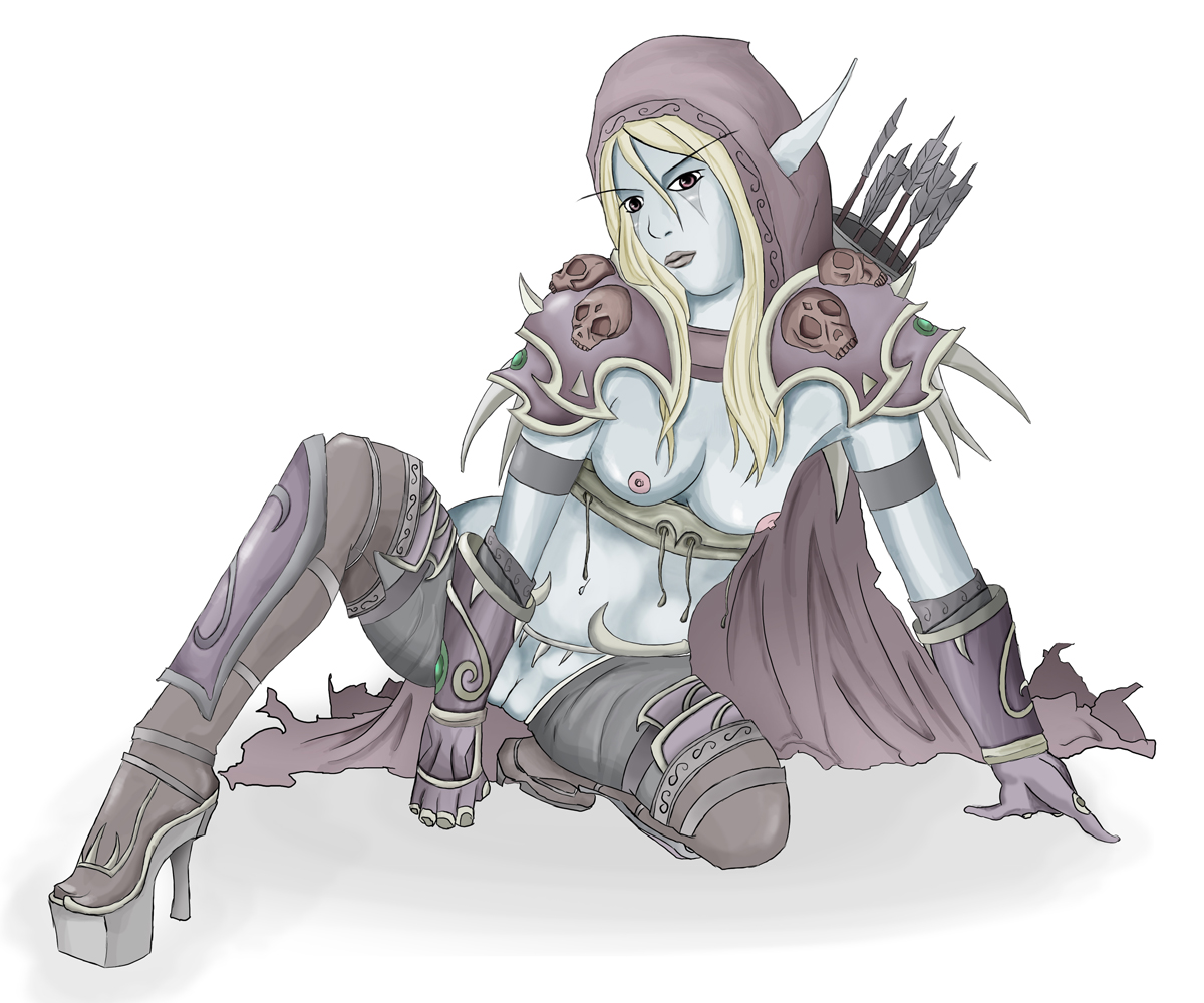 Wow sylvanas windrunner sucking dick hentai comics