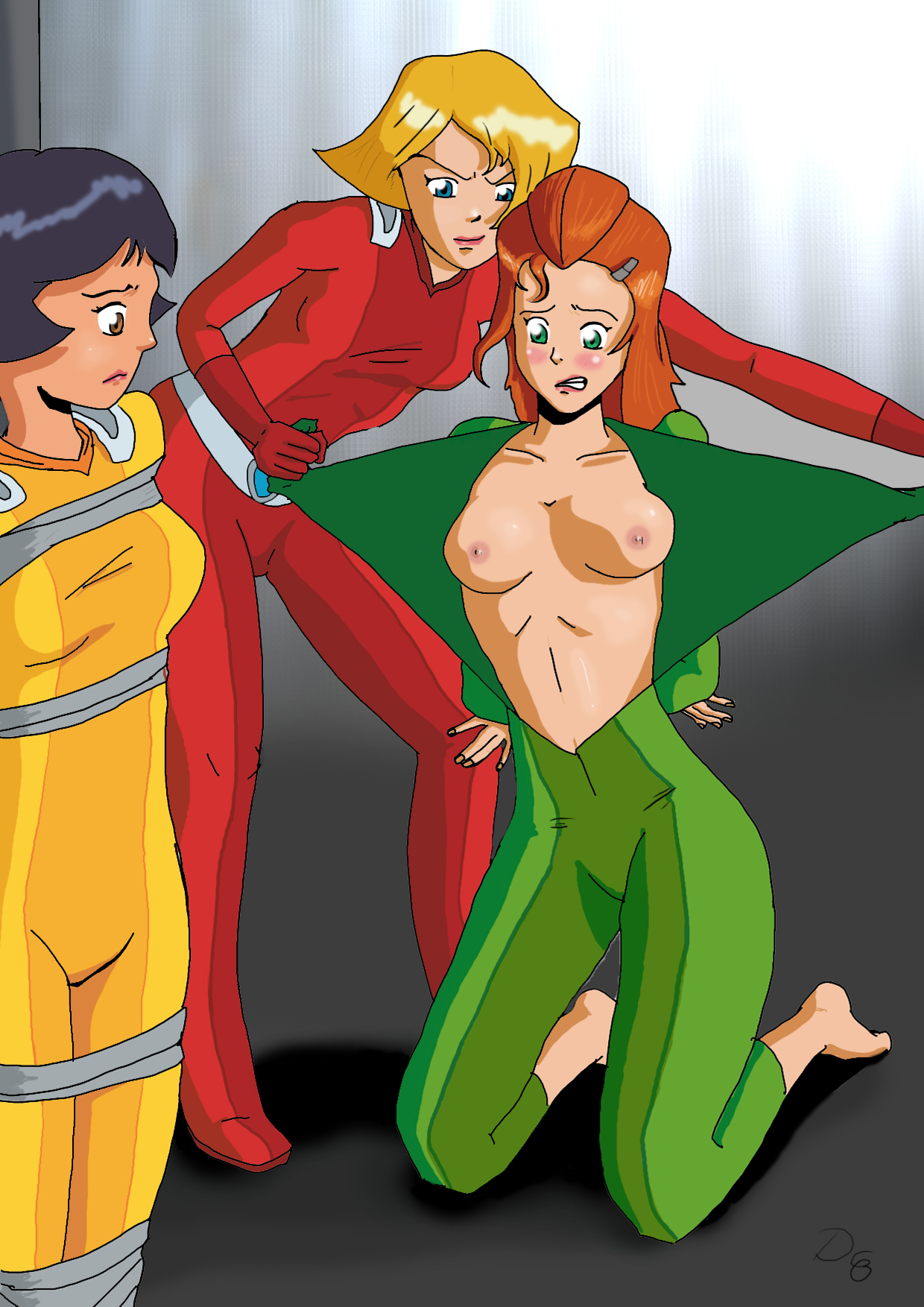 Totally Spies Porn With Each Other