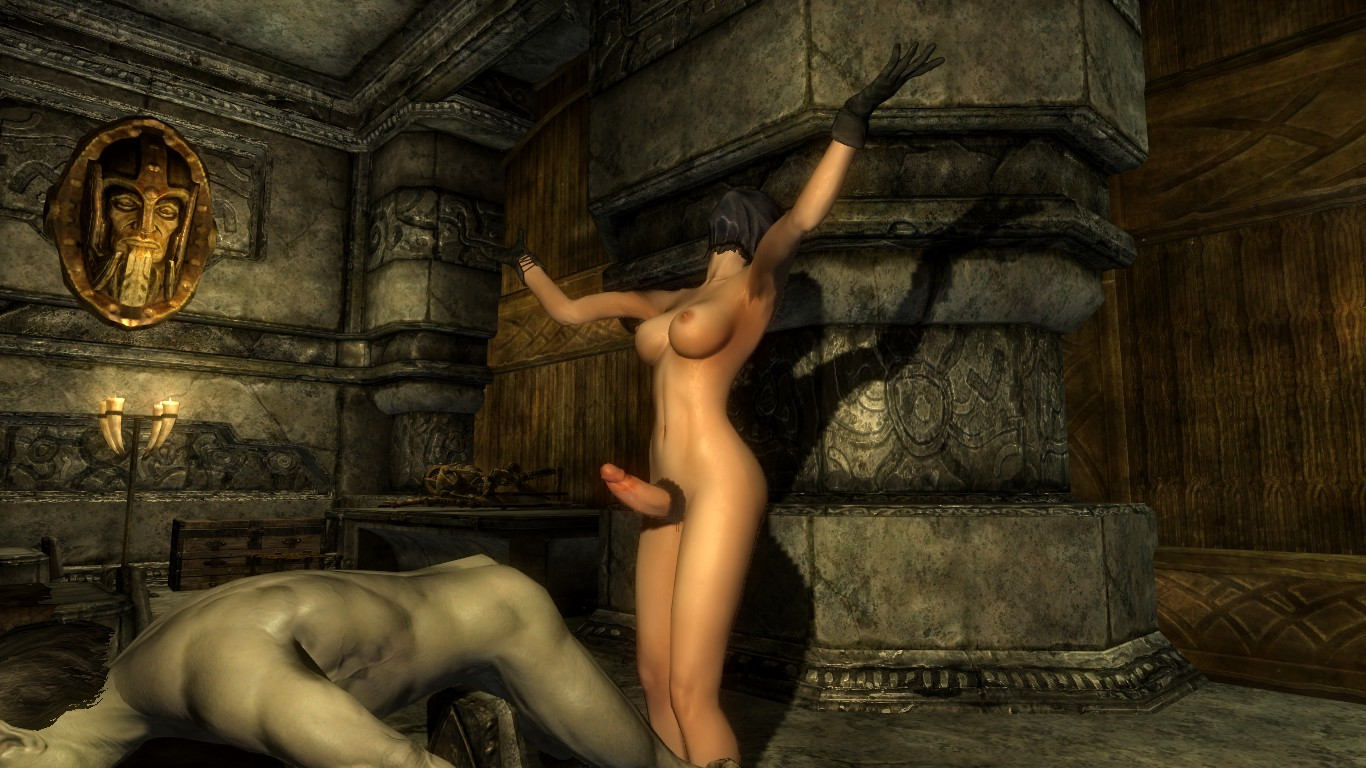 Naked skyrim futanari sex photo