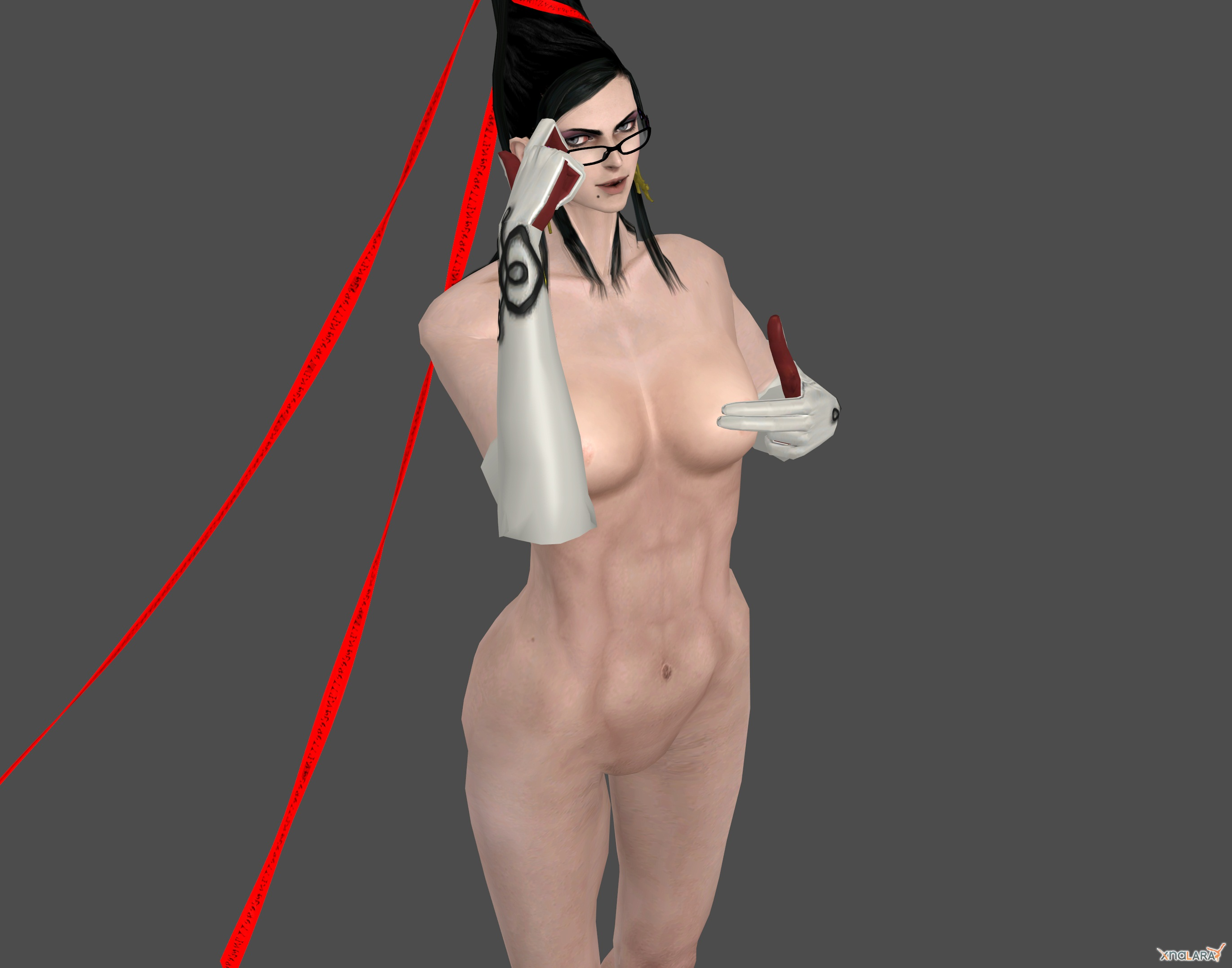Bayonetta nude pussy naked pic