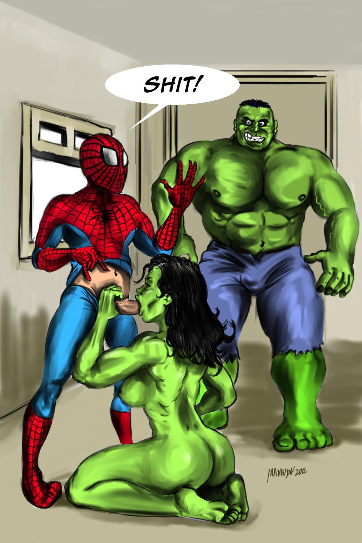 Человек паук занимается сексем 15 фотография