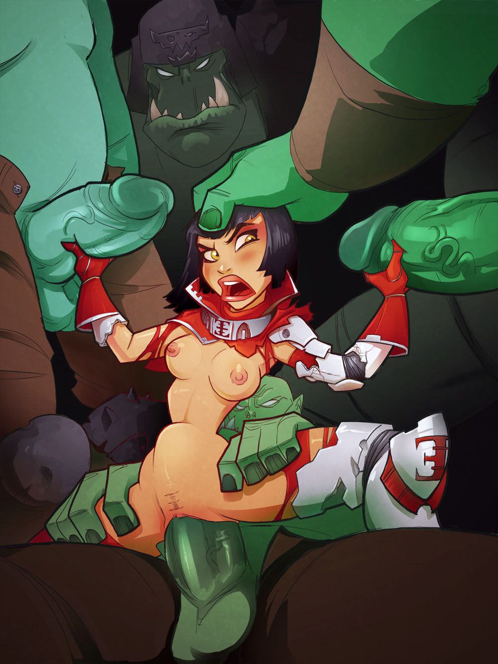 Warhammer orc porn nude pic