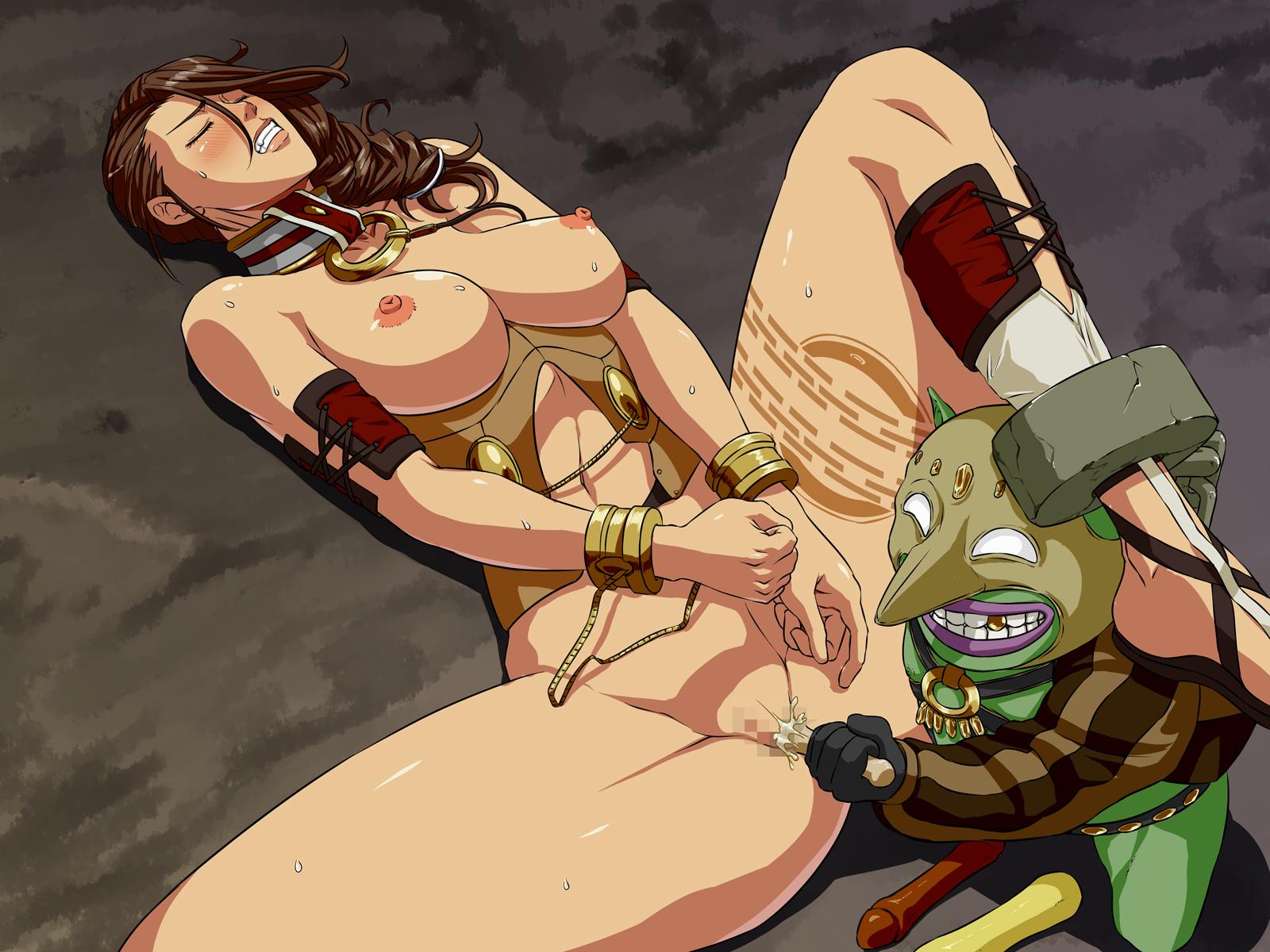 Cute sexy nsfw horny hentai submissive thong ecchi corset ball gag sex slave queen slave ikezaki misa sekkusudorei