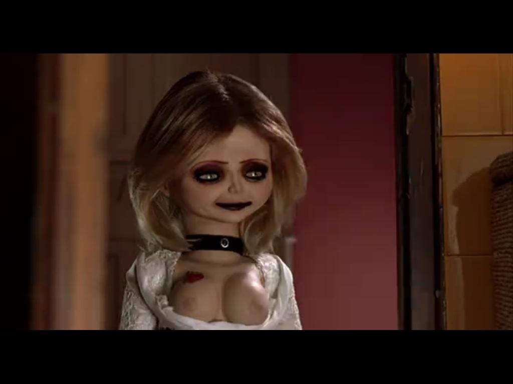 Chucky girlfriend boobs — 11