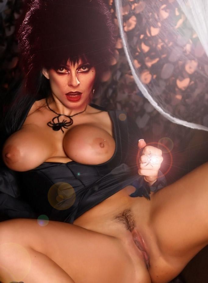 Elvira nude and fucked