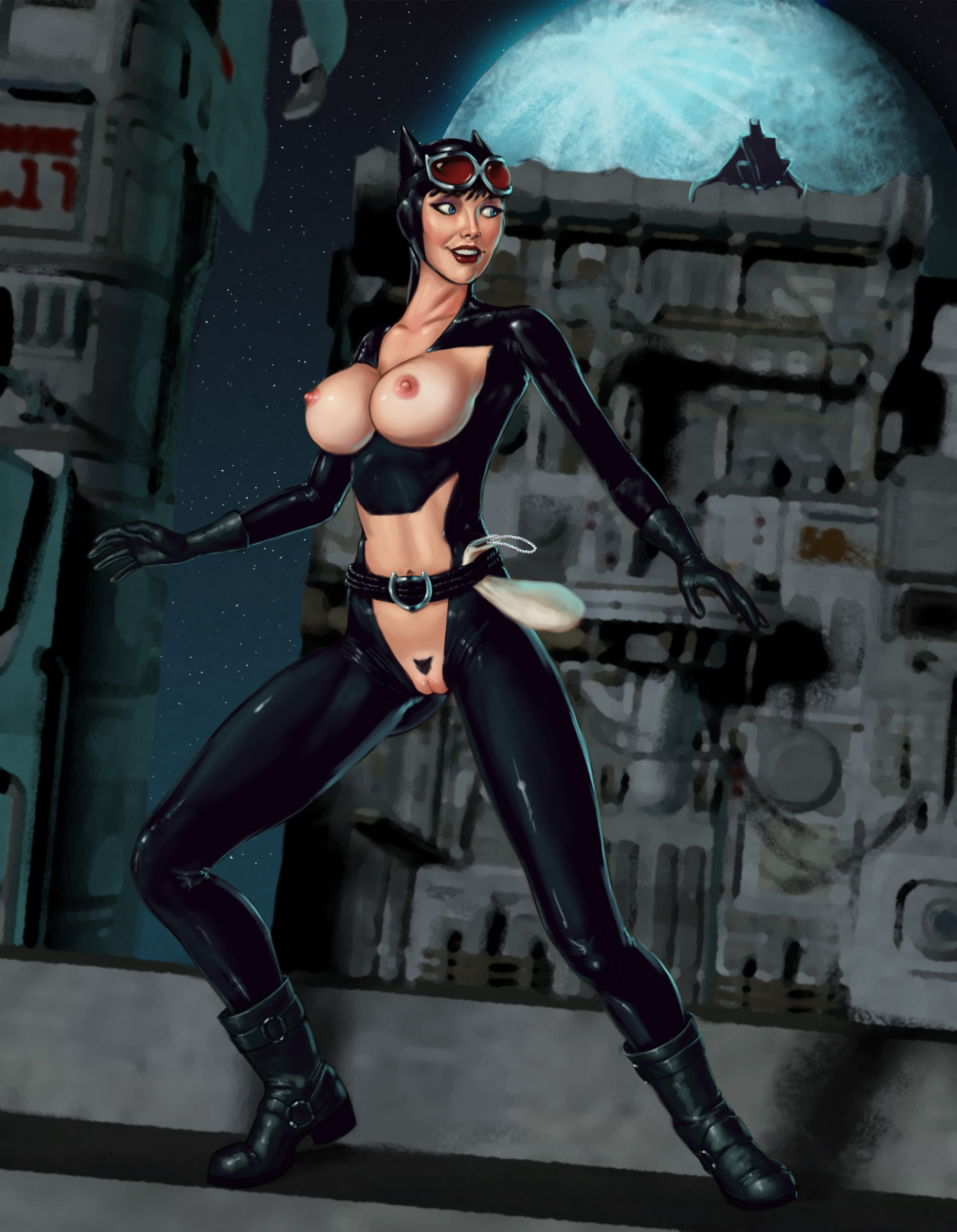 Catwoman porn thumbs erotic clips