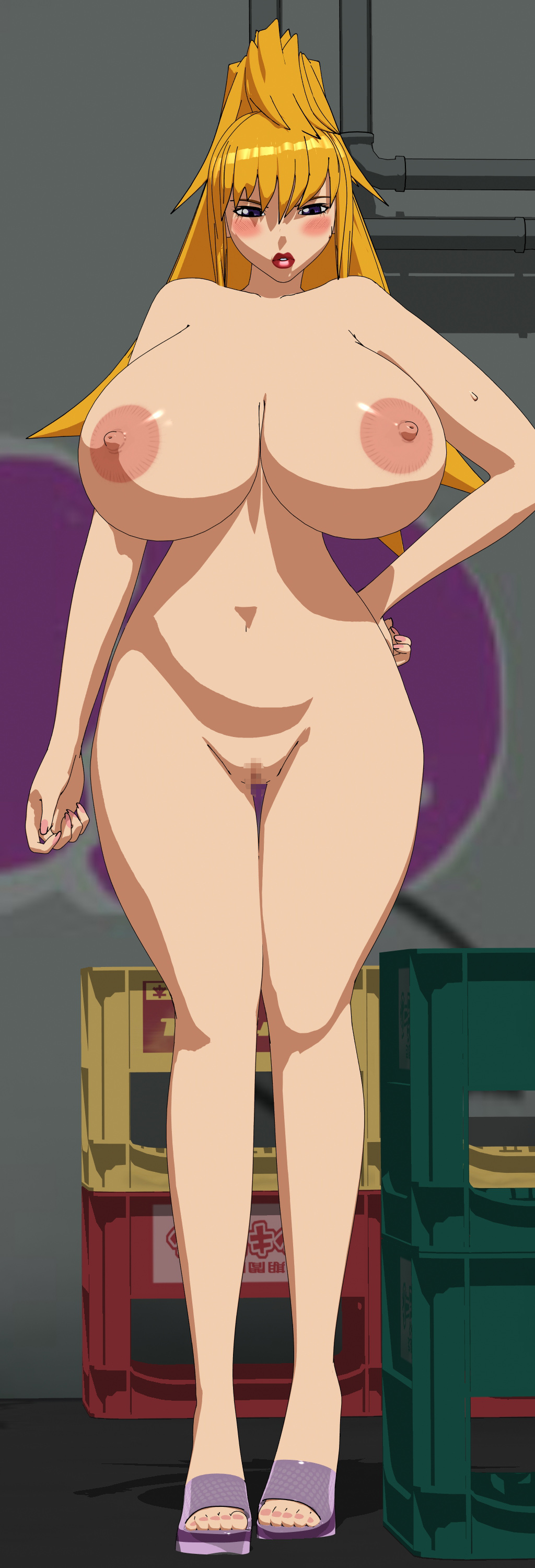 The Big ImageBoard (TBIB) - 1girl 3d absurdres areolae ...