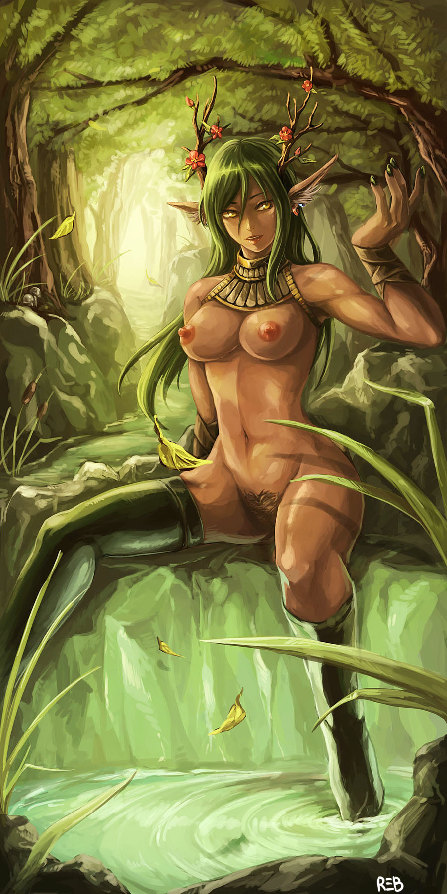 Nude night elf drawing sex beauty slut