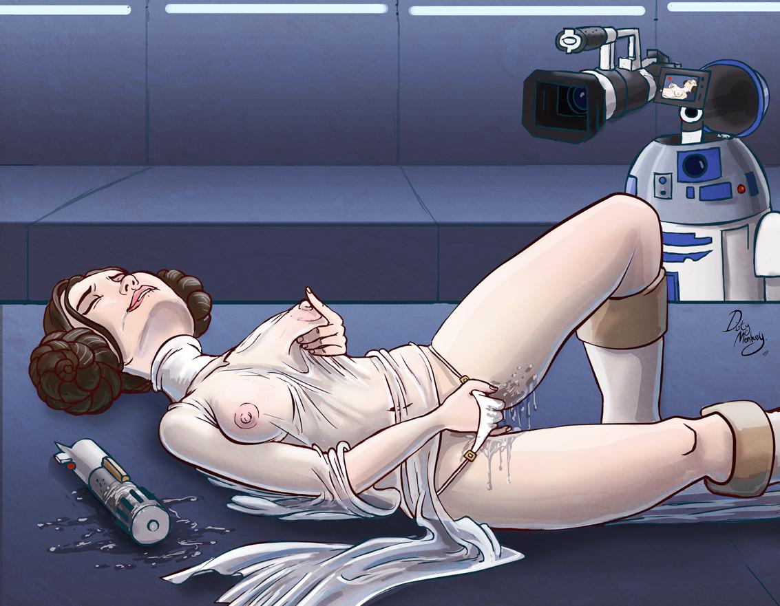 Star wars leia porm 5