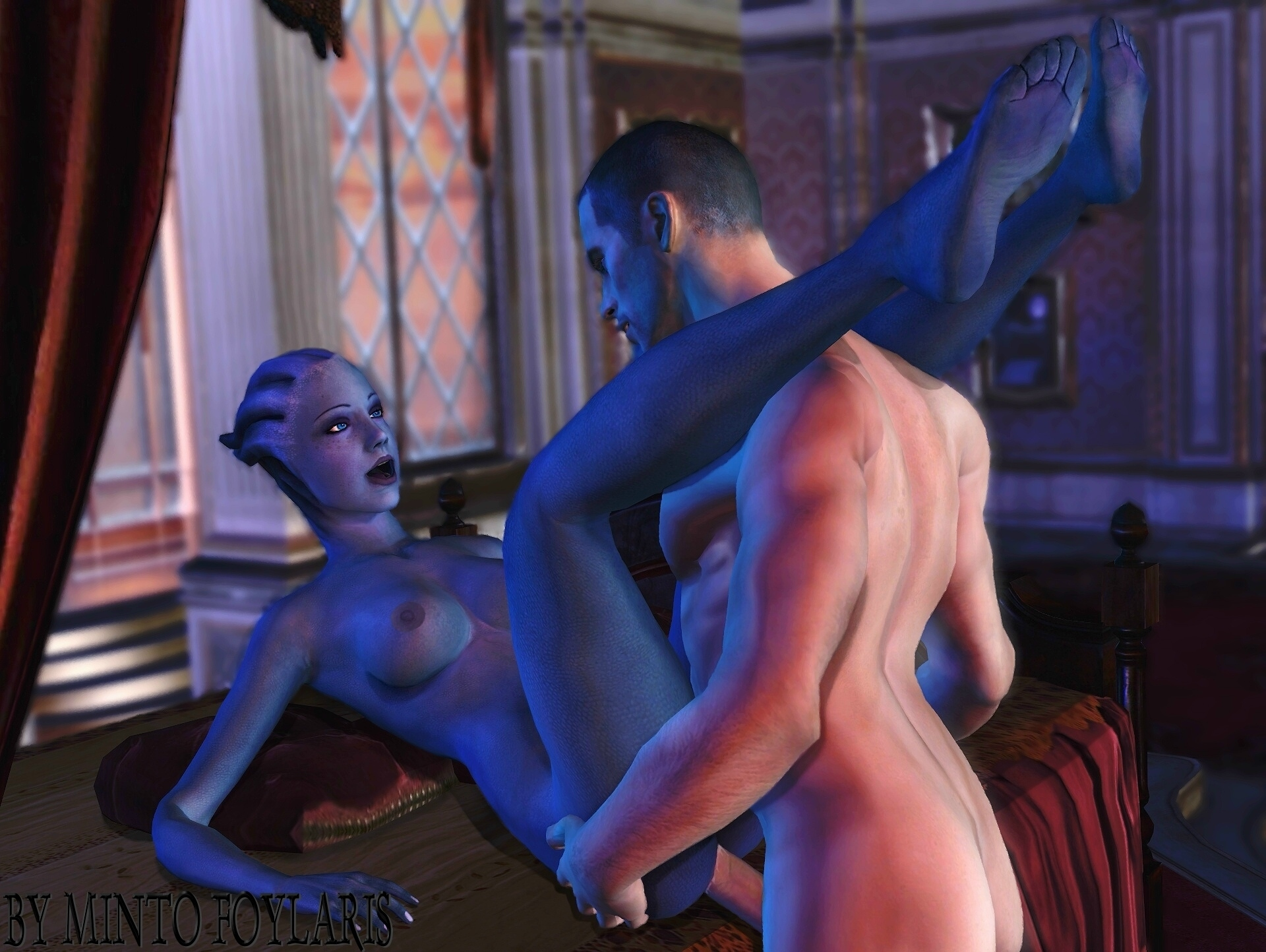 Mass effect porn shrek erotic slave