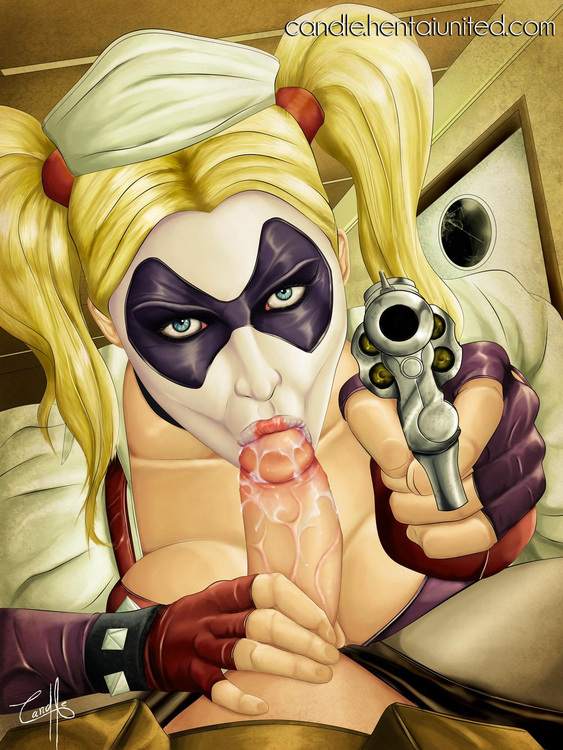 Harley quinn arkham asylum porn